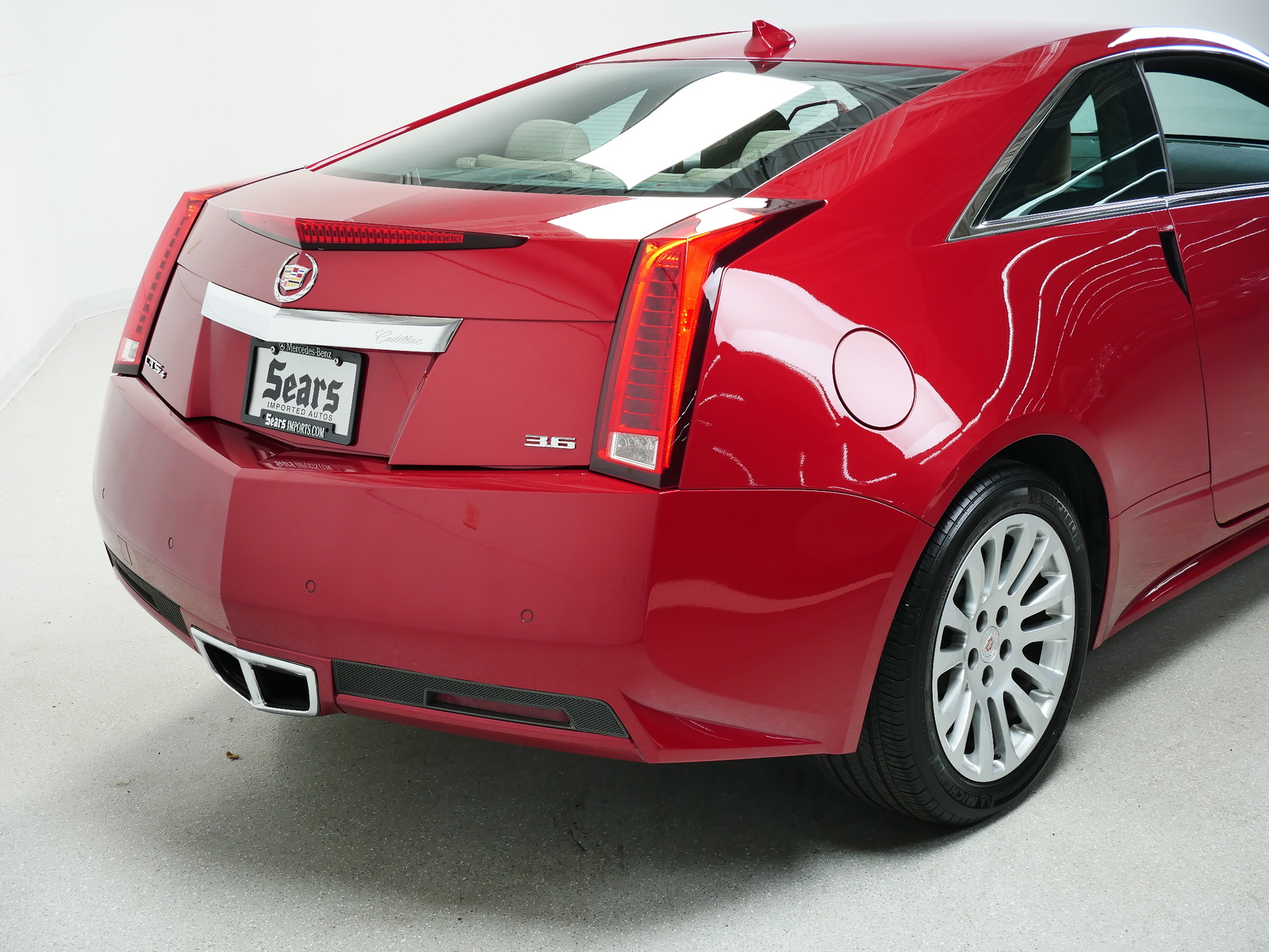 Pre-Owned 2011 Cadillac CTS Coupe Performance