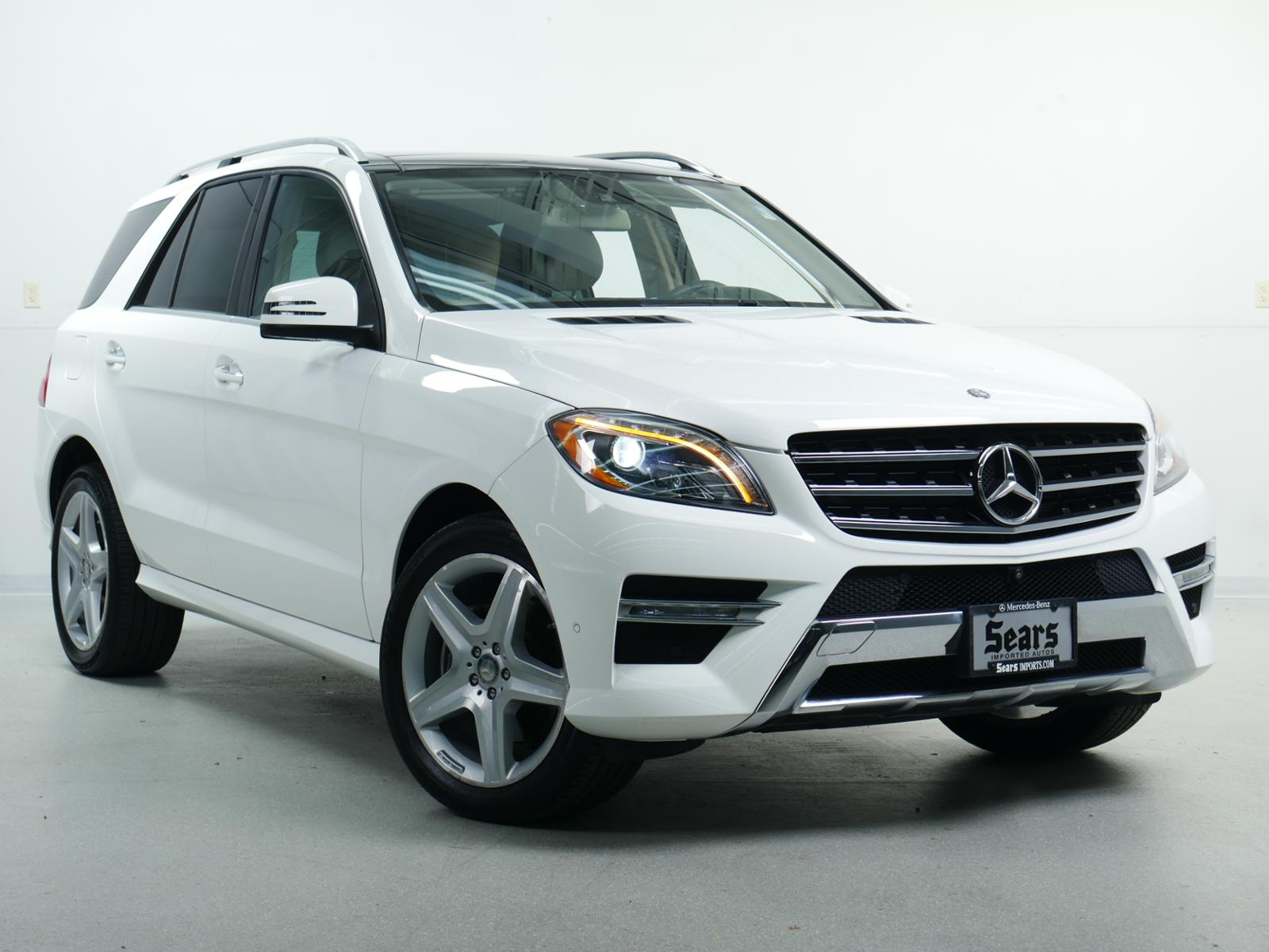 Pre Owned 2017 Mercedes Benz M Cl Ml 400