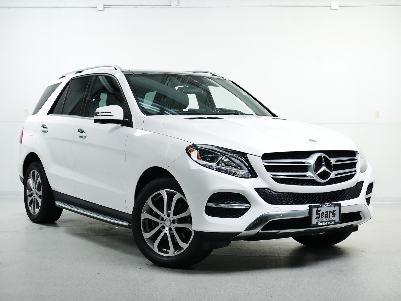 Certified Pre-Owned 2017 Mercedes-Benz GLE 350 AWD 4MATIC®