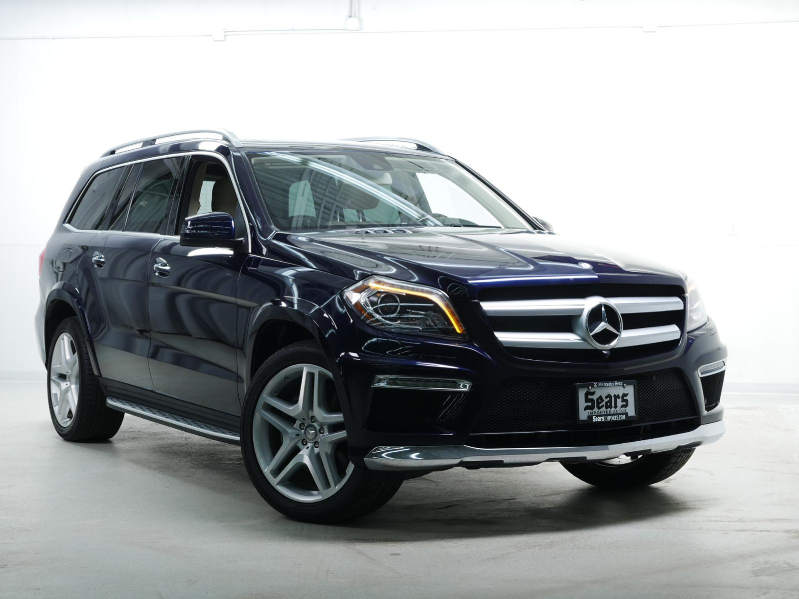 Certified Pre Owned 2016 Mercedes Benz Gl 550