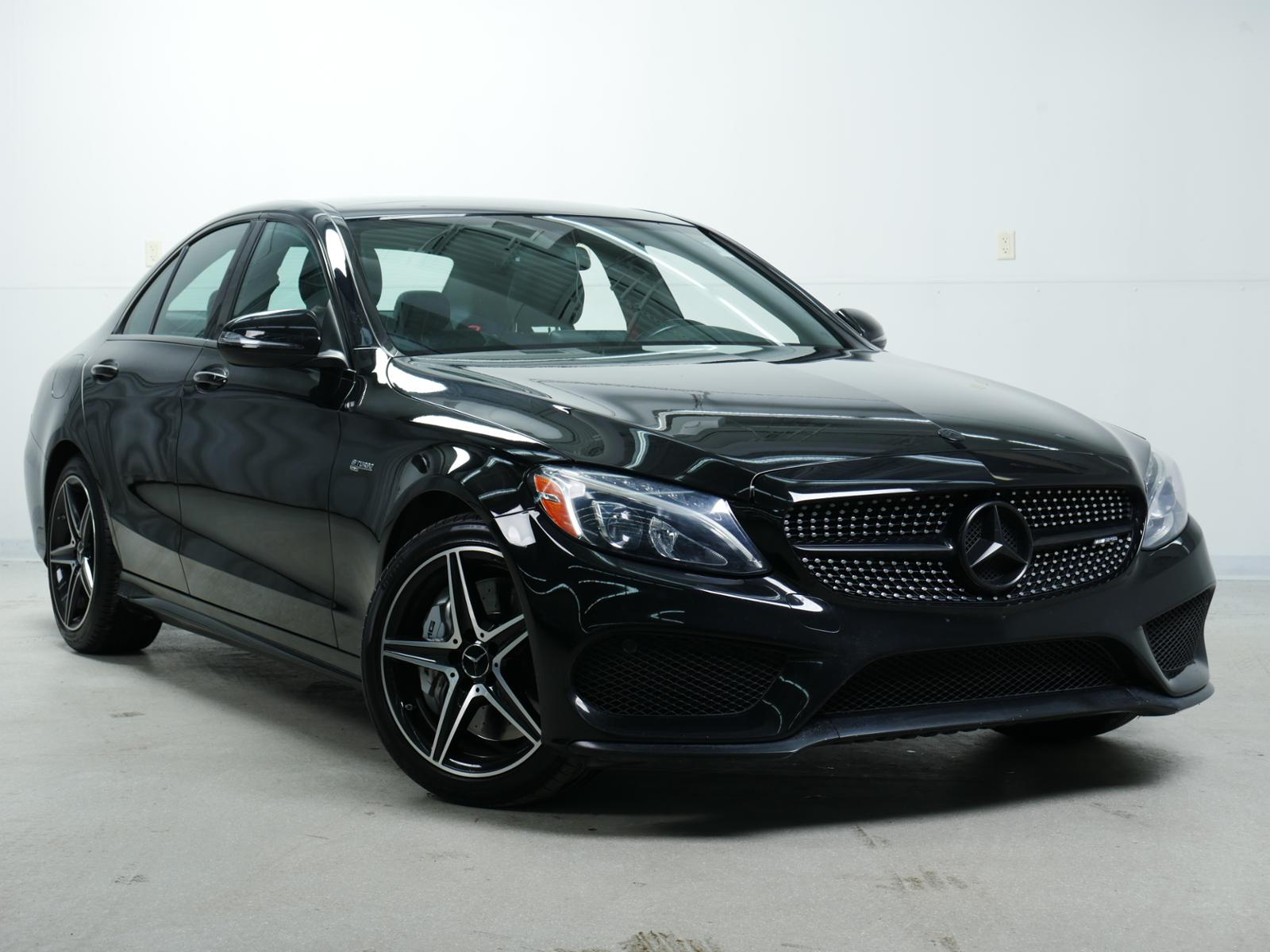 pre-owned 2017 mercedes-benz c-class amg® c 43 4dr car in minnetonka