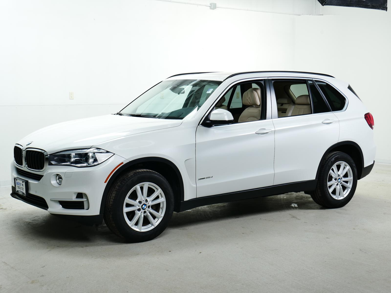 Pre-Owned 2015 BMW X5 xDrive35d AWD