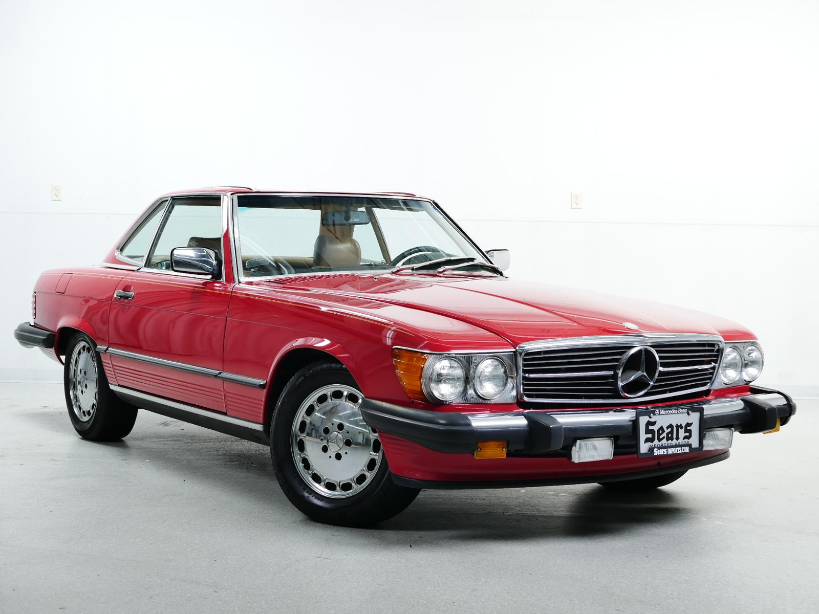 Pre-Owned 1987 Mercedes-Benz 560 Series