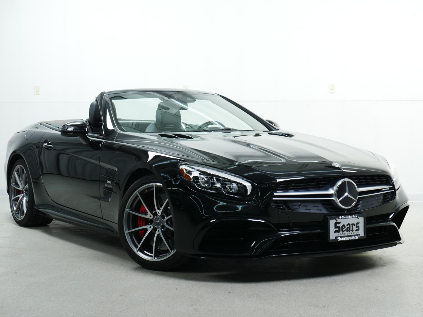 Pre-Owned 2017 Mercedes-Benz SL AMG® SL 63 Roadster
