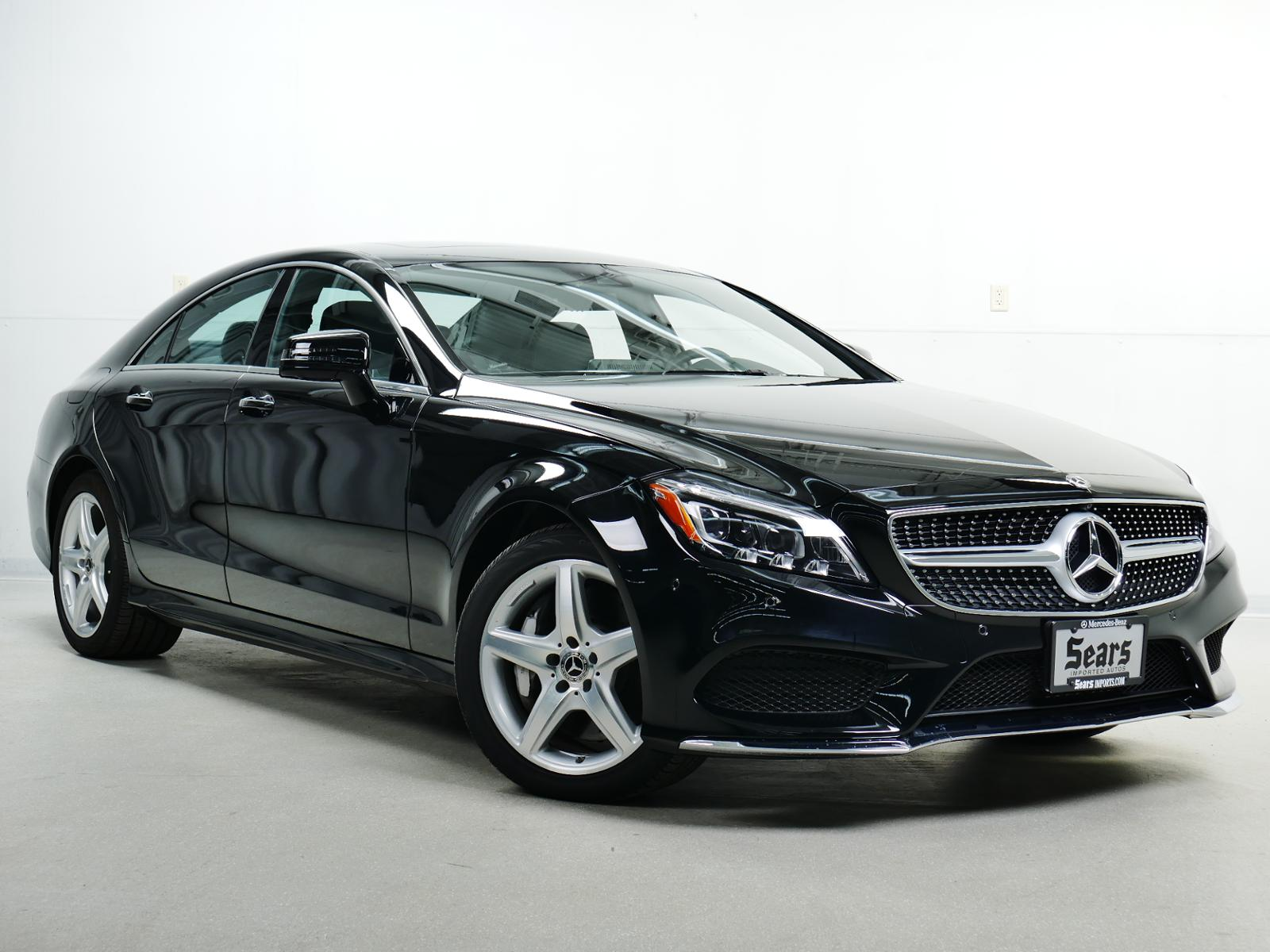 pre owned 2018 mercedes benz cls cls 550 coupe in. Black Bedroom Furniture Sets. Home Design Ideas