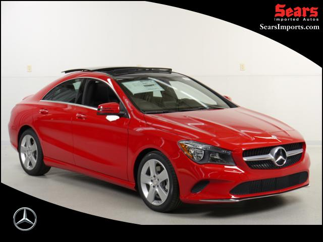 new 2017 mercedes benz cla cla 250 coupe in minnetonka 70159 sears imported autos inc. Black Bedroom Furniture Sets. Home Design Ideas