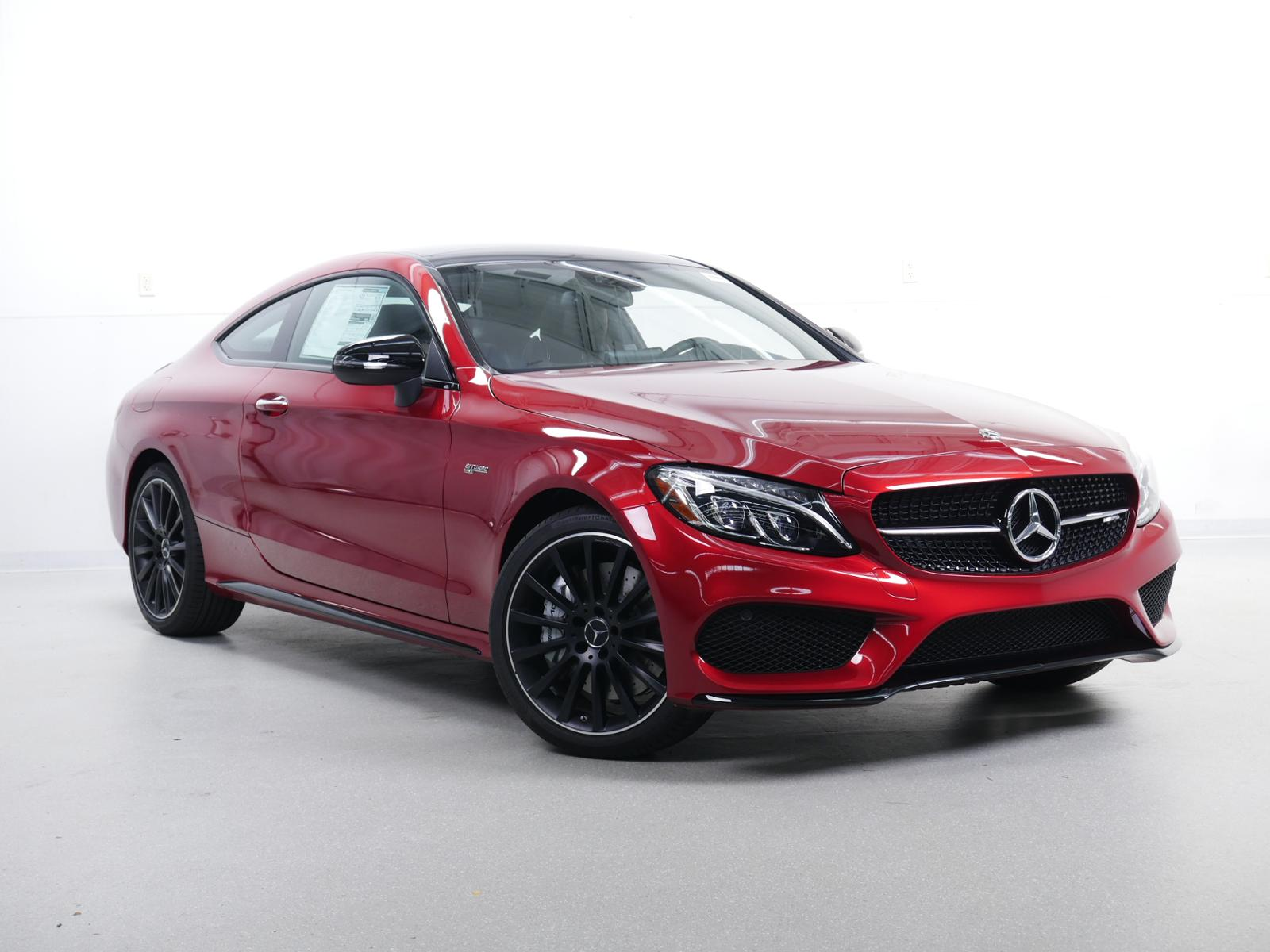 New 2018 Mercedes Benz C Class AMG C 43 Coupe Coupe in Minnetonka