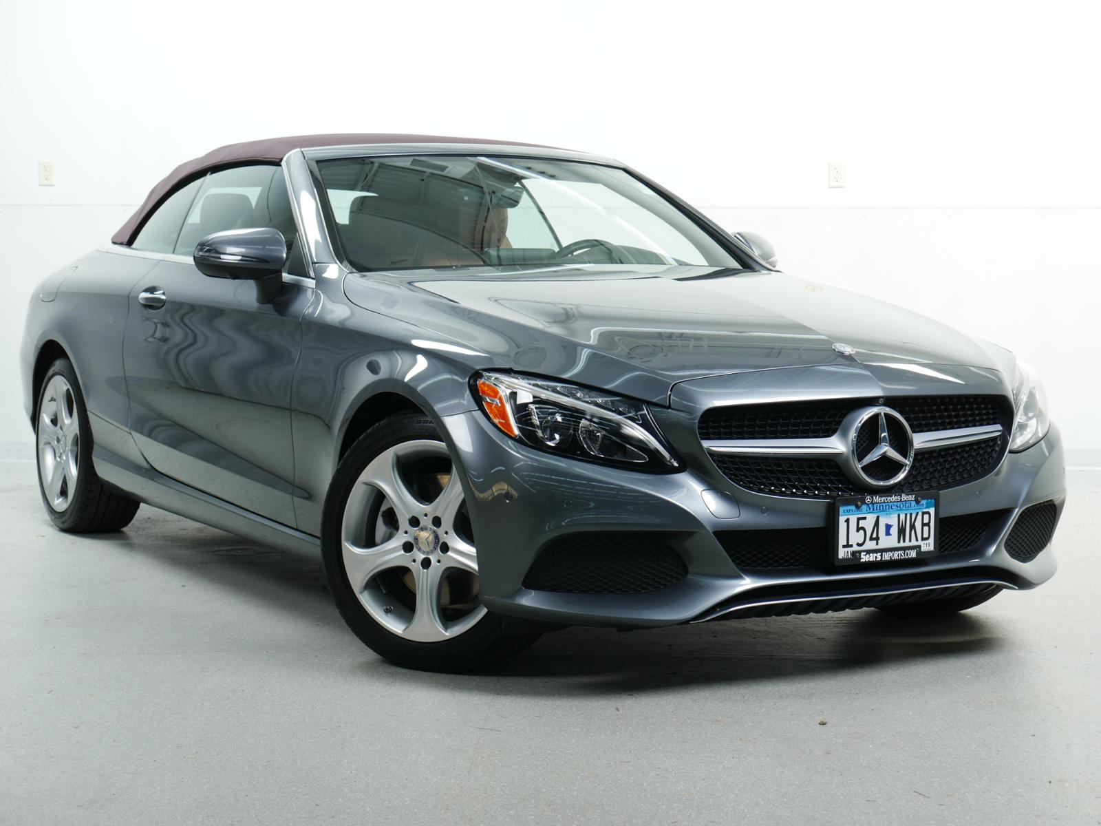 pre-owned 2017 mercedes-benz c-class c 300 cabriolet in minnetonka